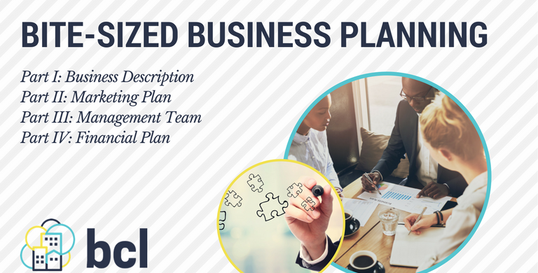 Bite-sized Business Planning: Part IV
